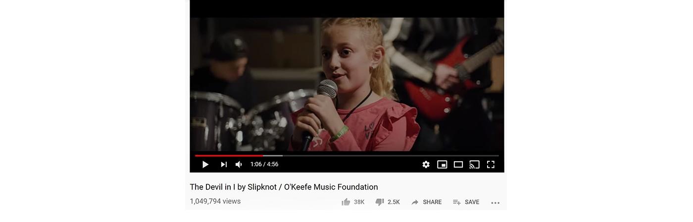 OMF kids cover Slipknot