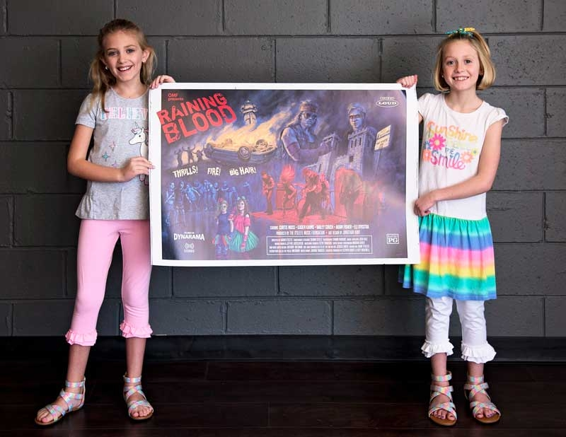 Raining Blood Poster With Students