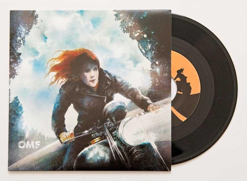 Vincent Black Lightning Record