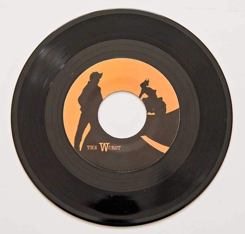 Vincent Black Lightning Record Vinyl