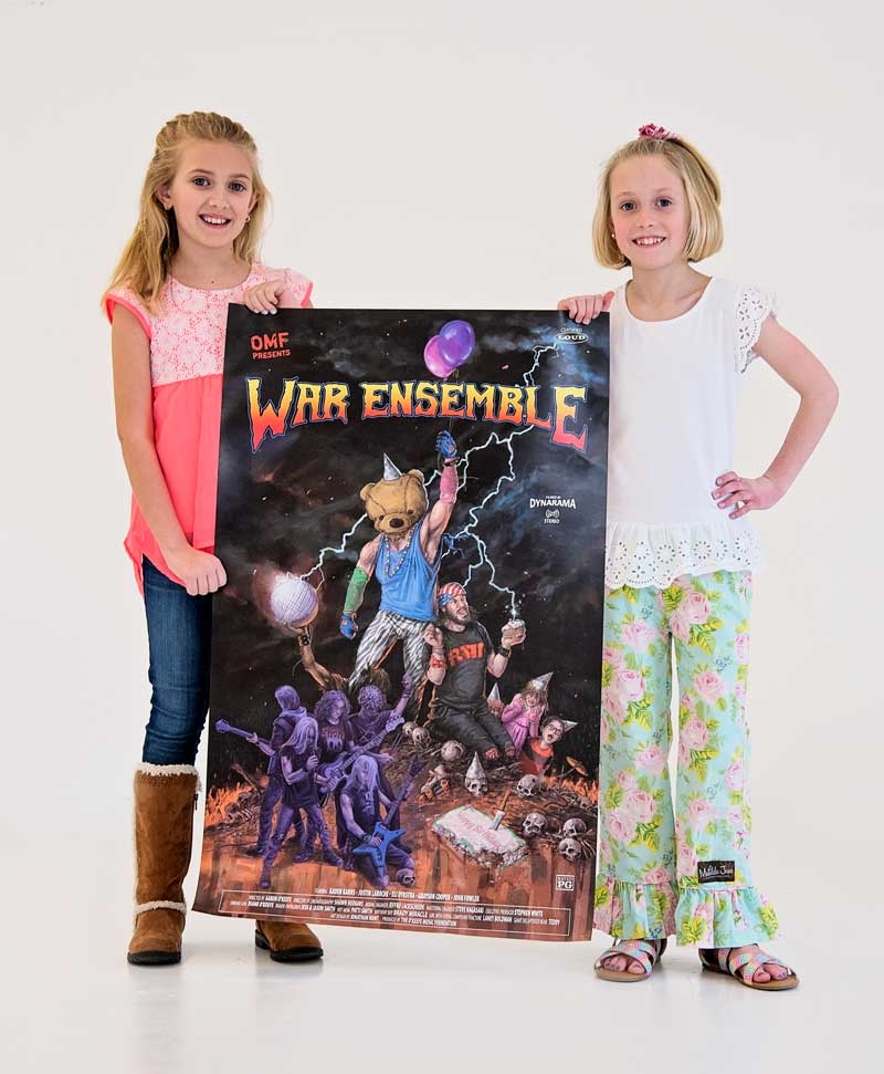 War Ensemble Poster With Students