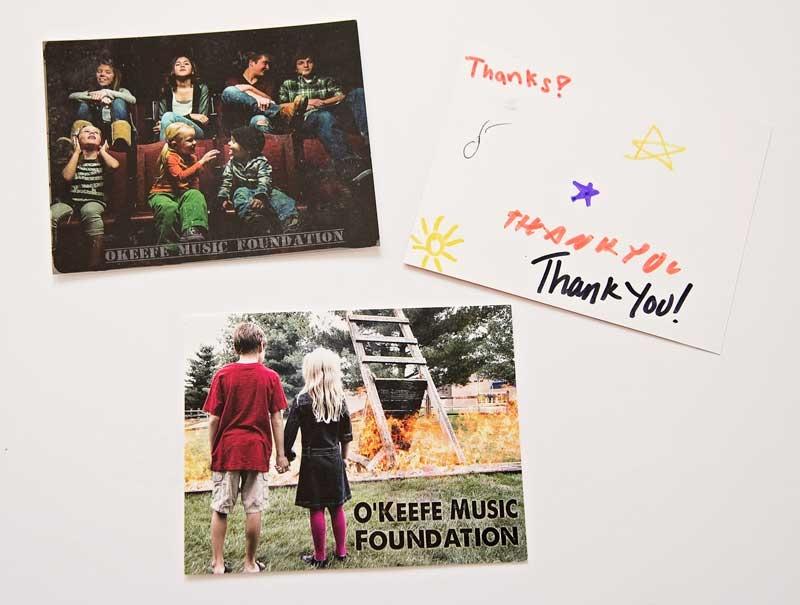 OMF Postcards Signed