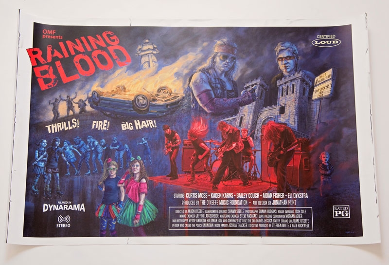 Raining Blood Poster